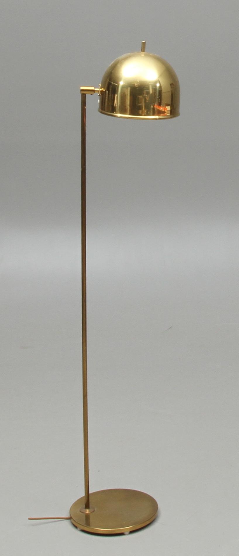 Bilder för 62703 GOLVLAMPA, mässing, Bergboms, 1900 tal u2013 Auctionet