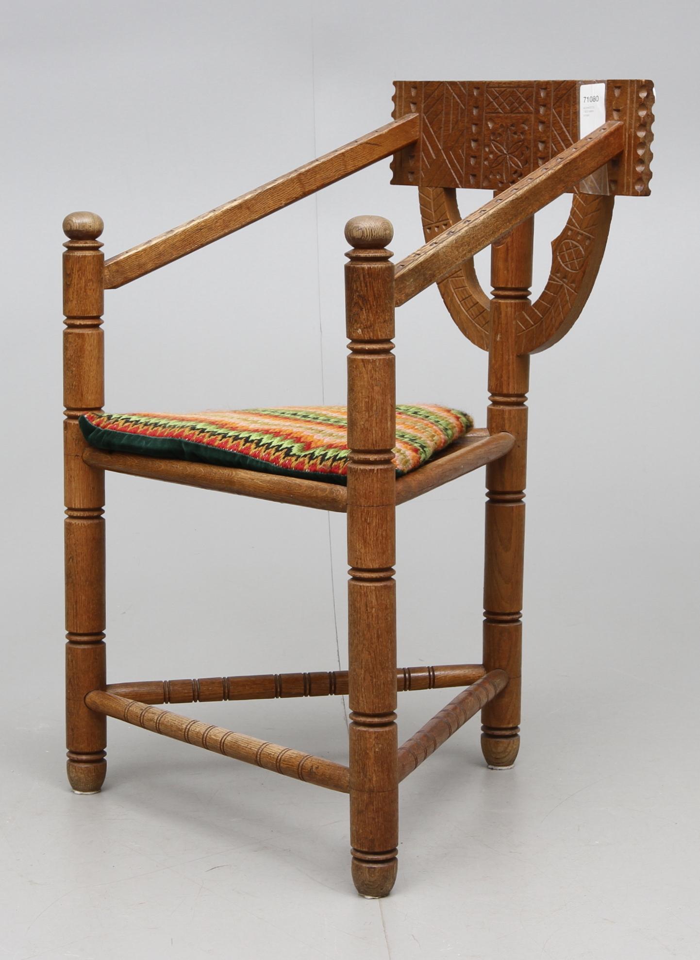 munkstol möbler ~ bilder för 71080 munkstol 1900talets början – auctionet